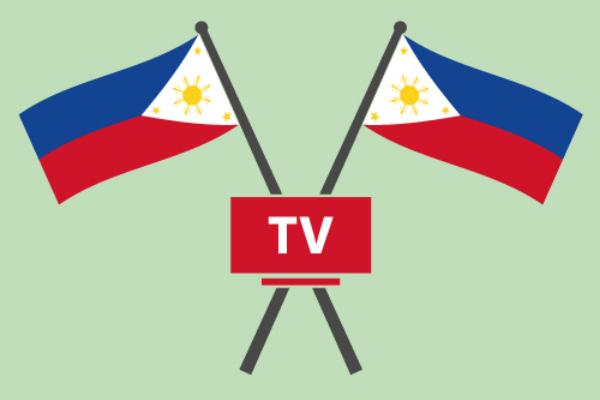 フィリピン国旗とテレビ
