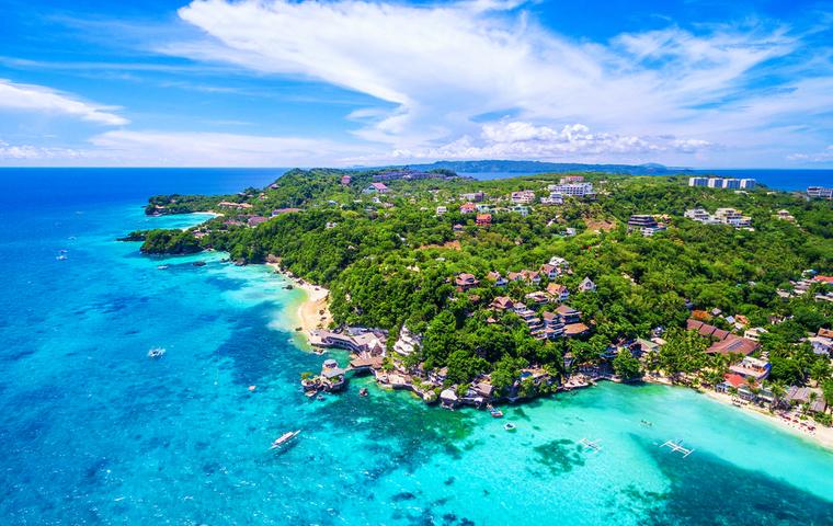 ボラカイ島全景