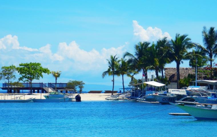 海が広がるセブ島