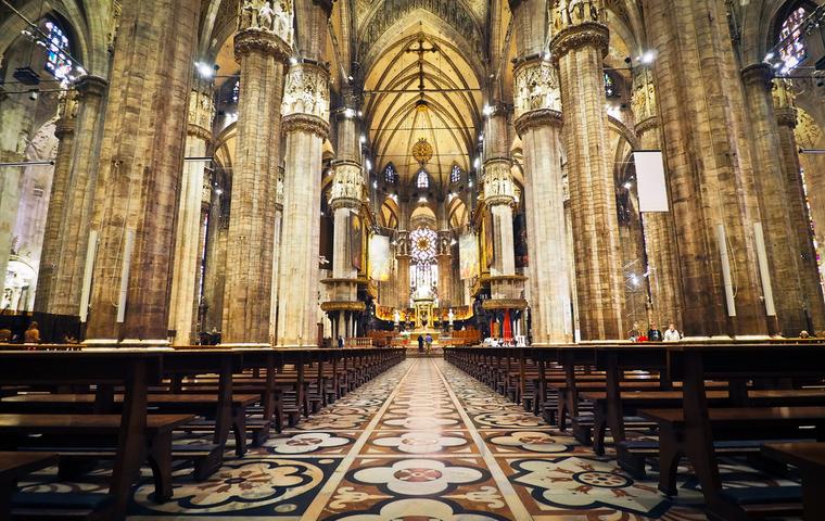 教会の綺麗な画像