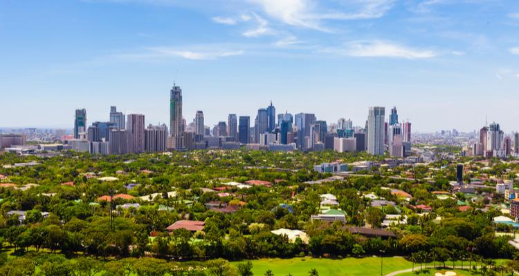 フィリピン 町 都市