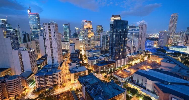 フィリピン都市部 マニラ