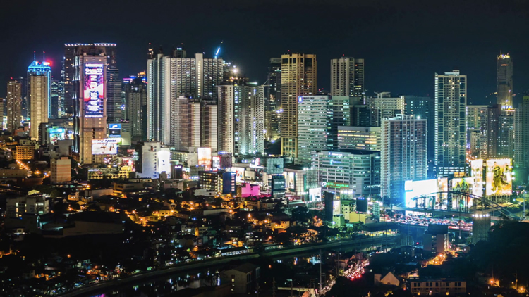 フィリピン夜景